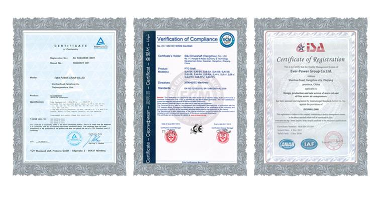 4.Certifications
