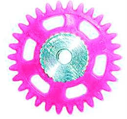 Plastic Spur Gears with Steel Core-1