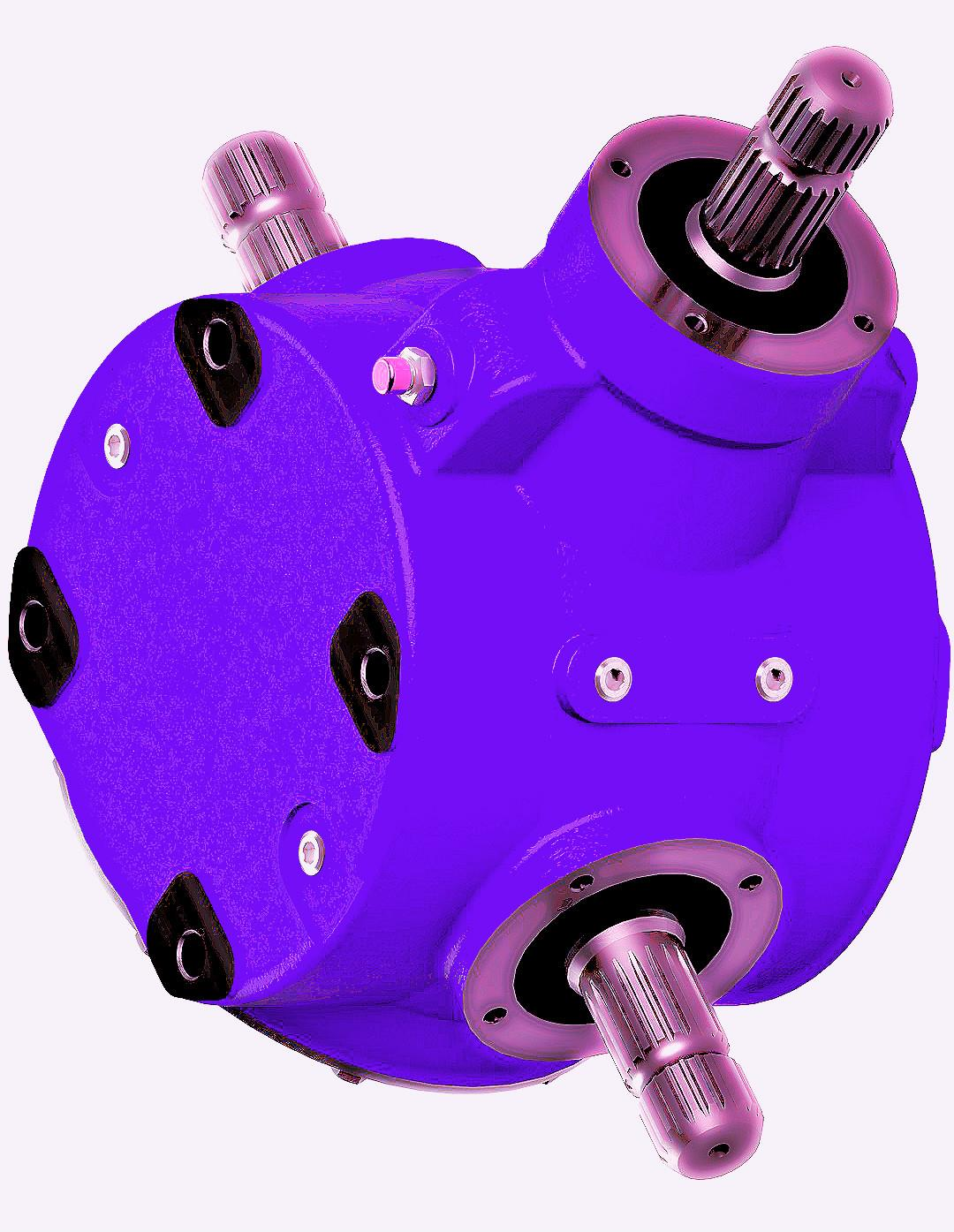 Agricultural Gearbox for Flail Mowers-1