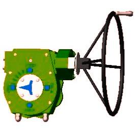 one-step valve actuator-H type