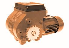 MOTOR  WORM GEARBOXES GW10 WITH CHAIN COUPLING
