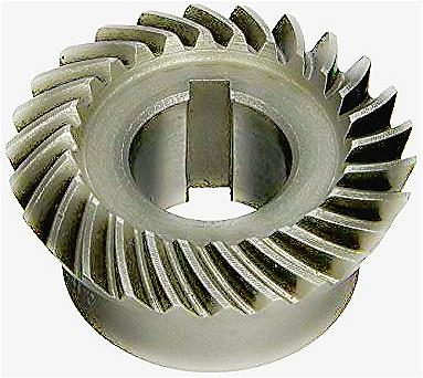 Finished Bore Spiral Bevel Gears