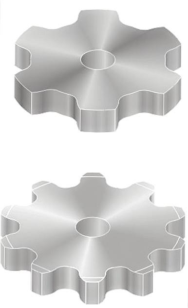 Flame Cut Sprockets