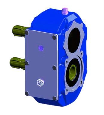 Gearbox For Lagoon Pumps