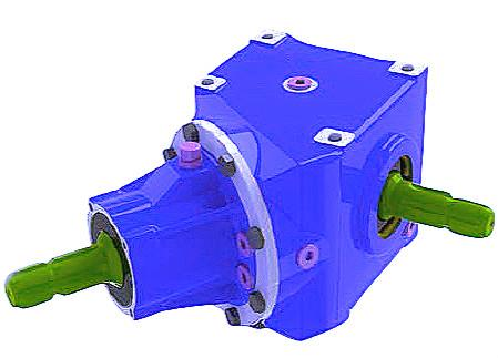 Gearbox For Rotary Mowers