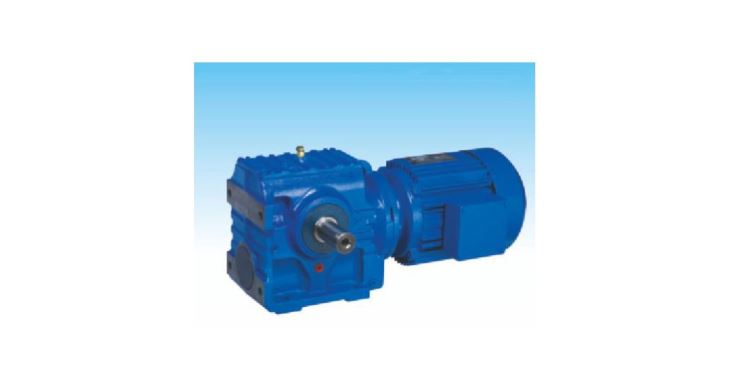 Helical Gear - Worm Gear Motor