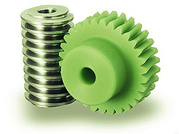 Nylon Plastic Worm Gear Wheels