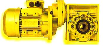 CHPC/CH - WORM GEAR WITH PRE-STAGE MODULE