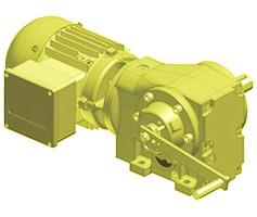 Overhead Track Gear Motors Gearbox Speed Reducers