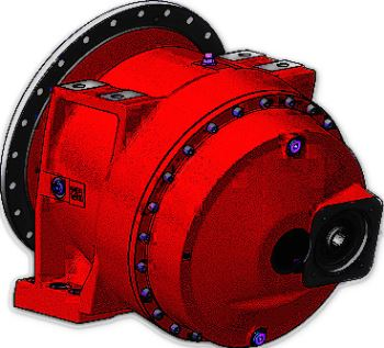 Planetary Gearboxes For Concrete Mixer Trucks