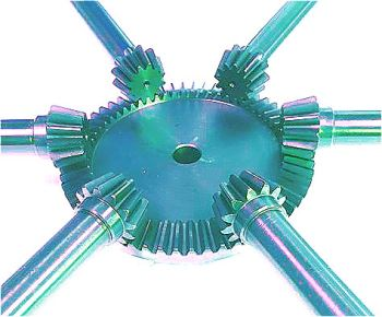 Steel Bevel Gears & Pinion Shafts