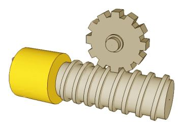 Worm Gear And Worm Wheel