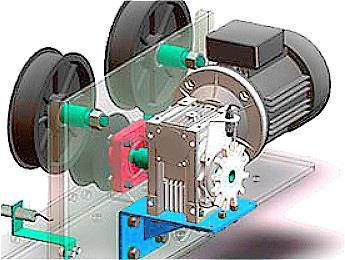 Worm Gearbox For Automatic Car Wash Machine